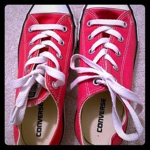 Hot Pink Converse!